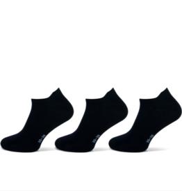 Teckel Sneakersokken kind - zwart