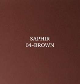 Saphir Tenax leerverf - bruin