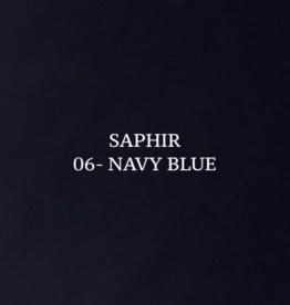 Saphir Tenax leerverf - marineblauw