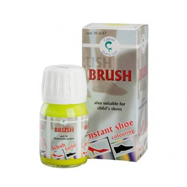 Brush it Donkergrijs Schoenverf 037