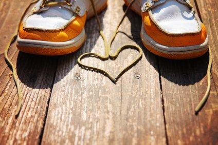 ShoeSupply.eu Leren Veters Rood 120cm