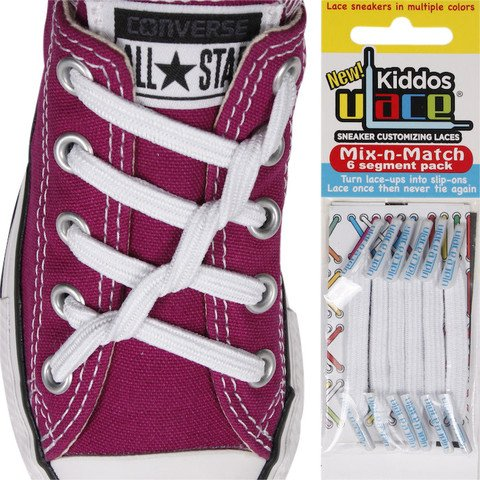 U-LACE VETERS ULace veters Kiddos Wit