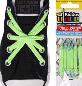 U-LACE VETERS U-Lace veters Kiddos Bright Green