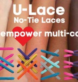 U-LACE VETERS U-Lace veters Mix-n-Match Neon Roze