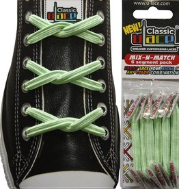 U-LACE VETERS Mix-n-Match Mint Groen