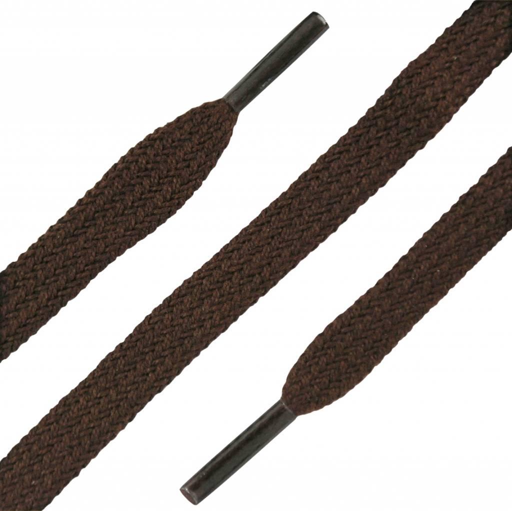 SL LINE Platte Veters DonkerBruin 90cm