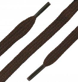 SL LINE Donkerbruin 120cm Platte Veters