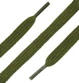 SL LINE Platte Veters Legergroen 120cm