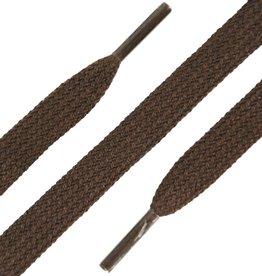 SL Line Donkerbruin 150cm Platte Veters