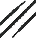 SL Line Platte Wax Veters Zwart 75cm