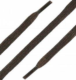 SL LINE Donkerbruin 75cm Platte Wax Veters