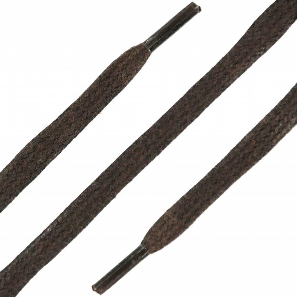 SL LINE Platte Wax Veters Donkerbruin 75cm