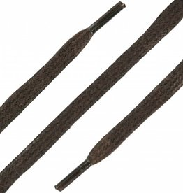 SL LINE Donkerbruin 90cm Platte Wax Veters