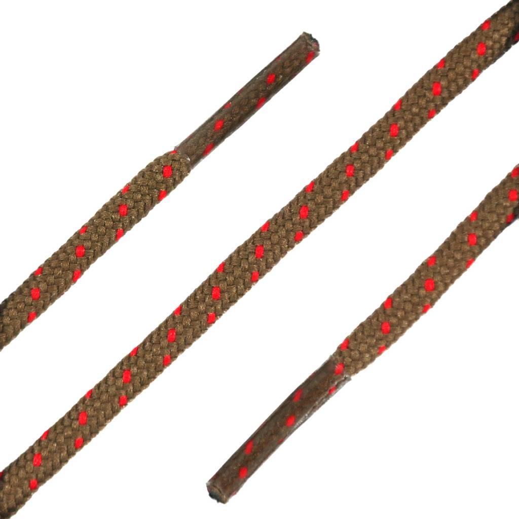 SL LINE Ronde Outdoor Veters Bruin-Rood 120cm