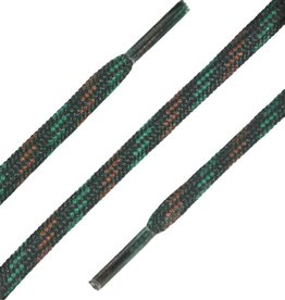 SL Line Zwart-Groen-Bruin 75cm Ronde Outdoor Veters