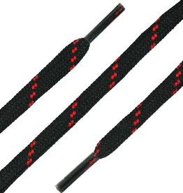 SL LINE Zwart-Rood 180cm Ronde Outdoor Veters
