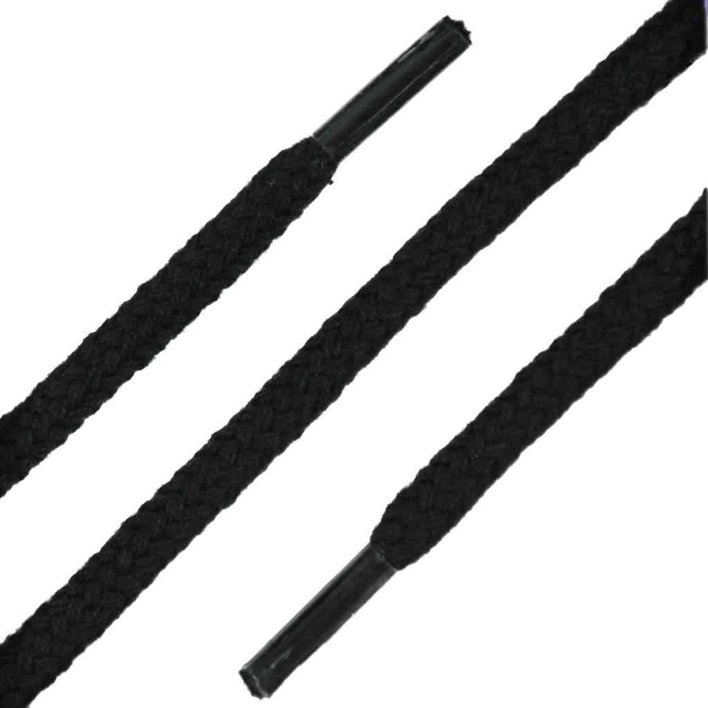 SL LINE Dikke Ronde Veters Zwart 120cm