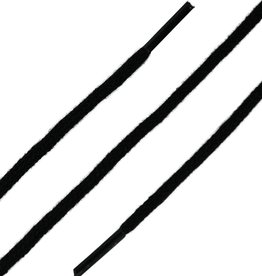 SL Line Zwart 90cm Dunne Ronde Veters