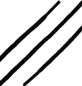 SL LINE Zwart 150cm Dunne Ronde Veters