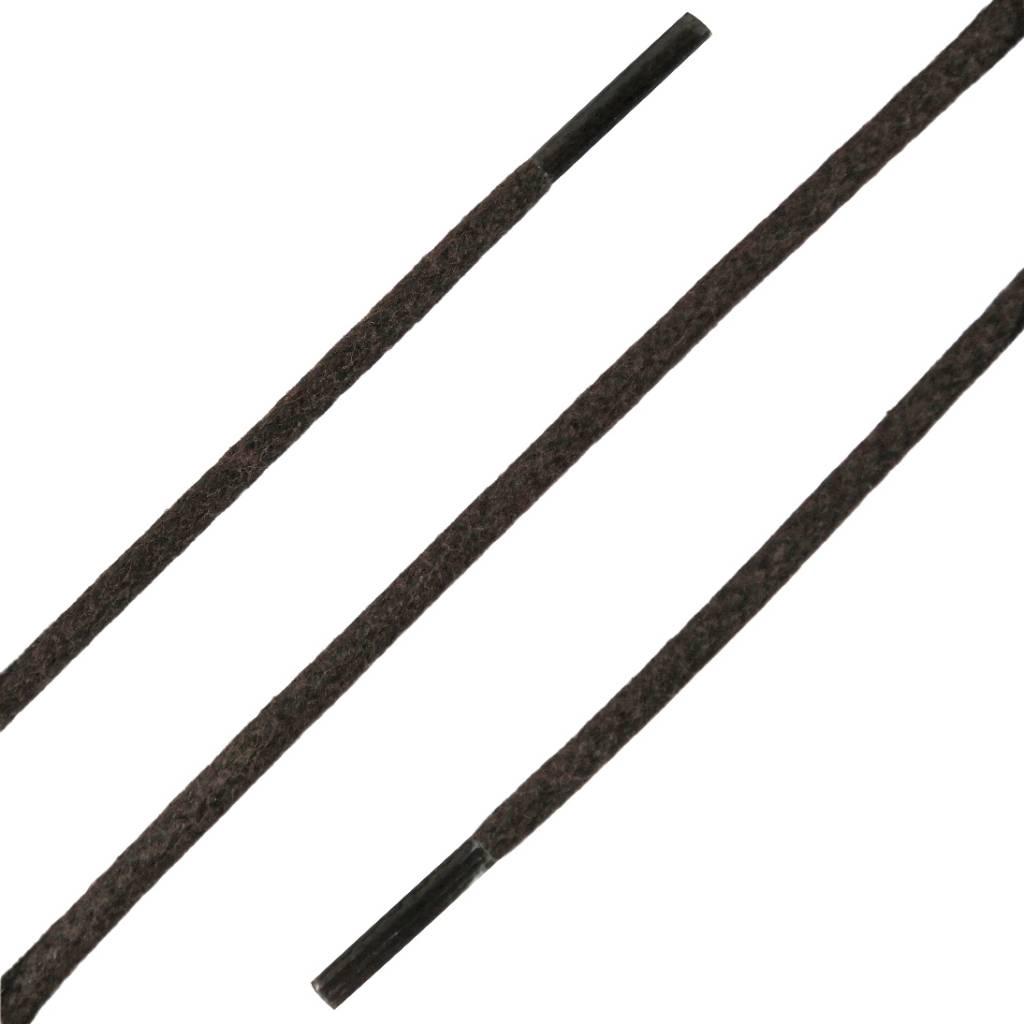SL LINE Dunne Ronde Wax Veters Donkerbruin 60cm