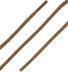 SL Line Cognac 60cm Dunne Ronde Wax Veters