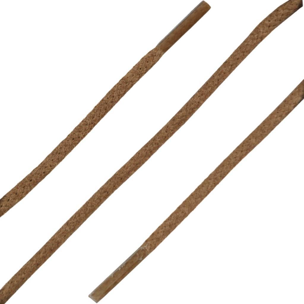 SL LINE Dunne Ronde Wax Veters Cognac 60cm
