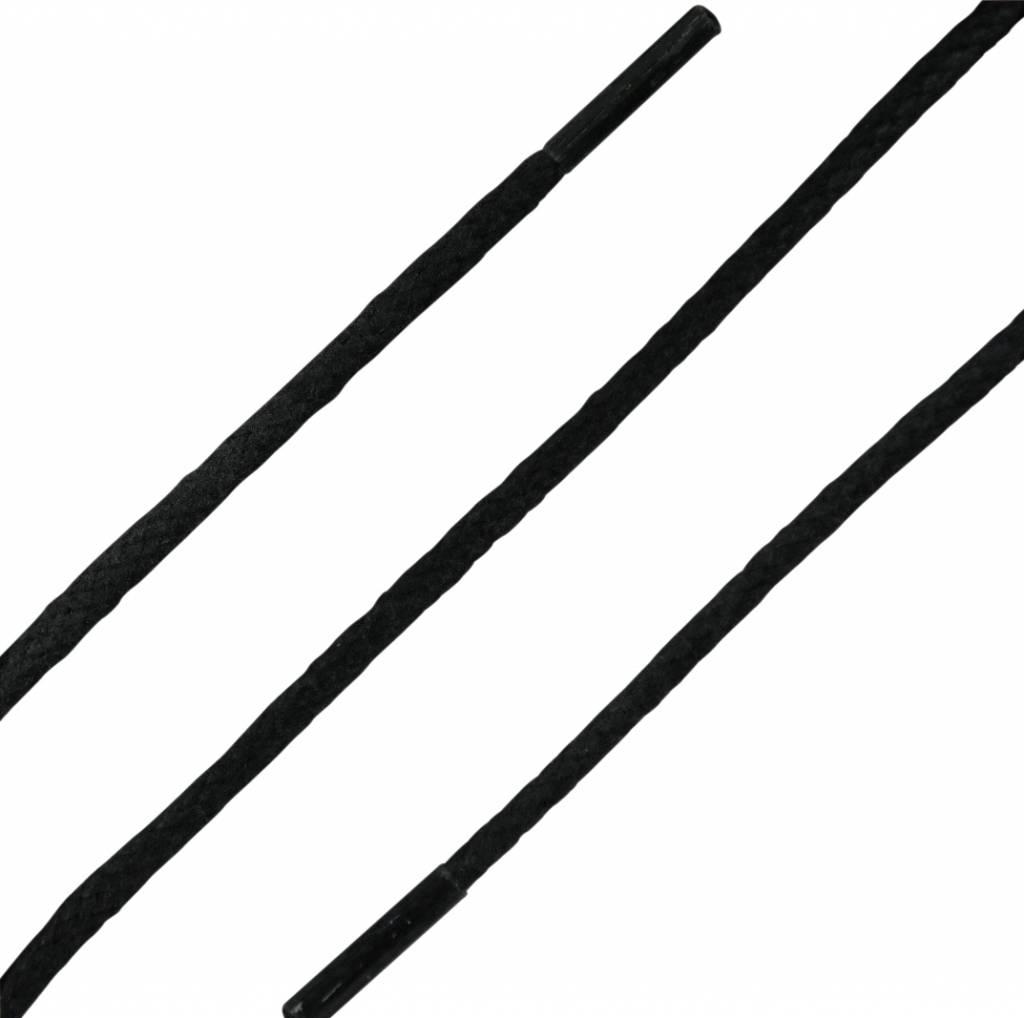 SL LINE Dunne Ronde Wax Veters Zwart 75cm