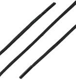 SL Line Extra Dunne Wax Veters Zwart 75cm
