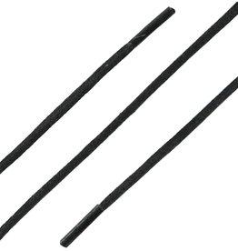 SL Line Zwart 90cm Extra Dunne Wax Veters