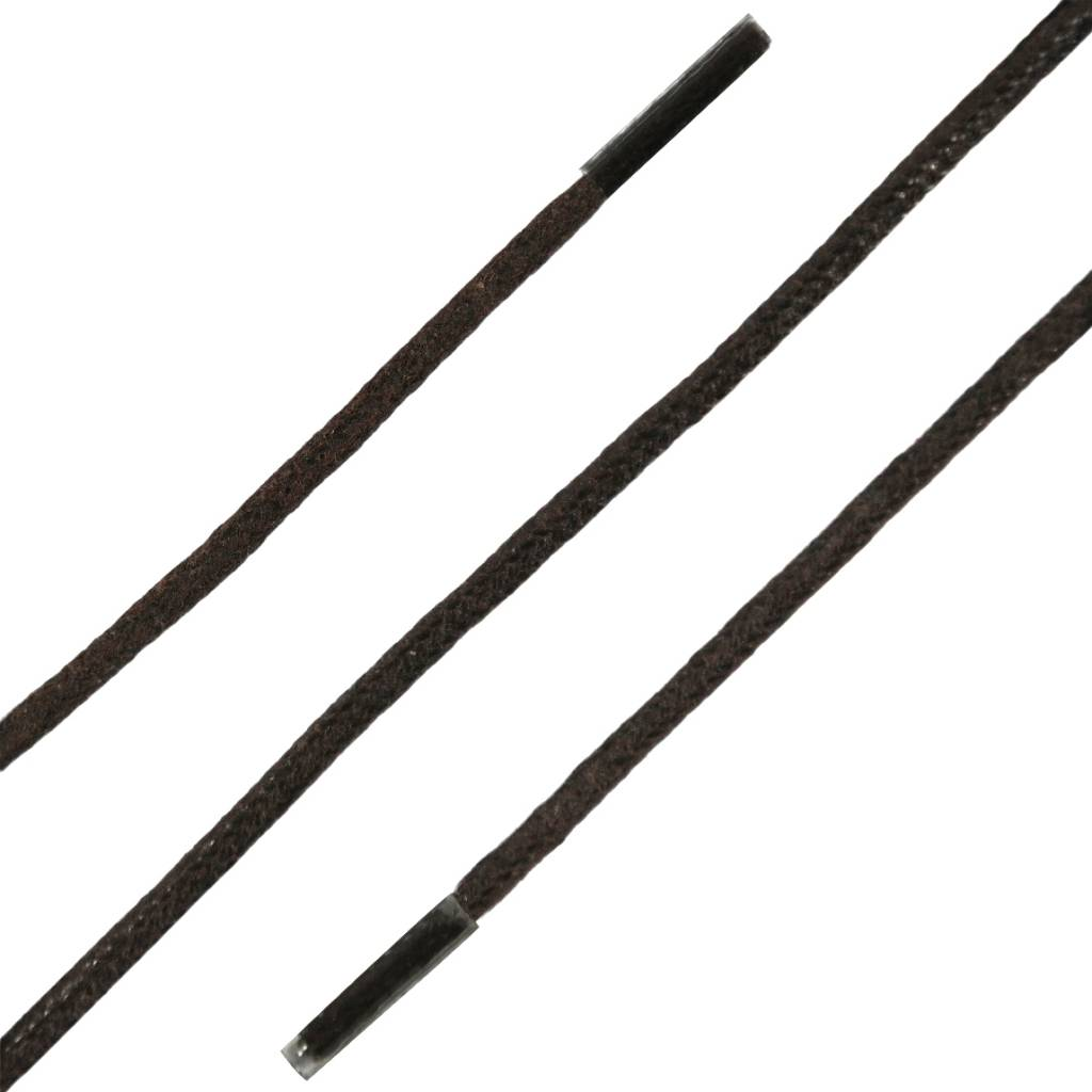 SL LINE Extra Dunne Wax Veters Donkerbruin 90cm