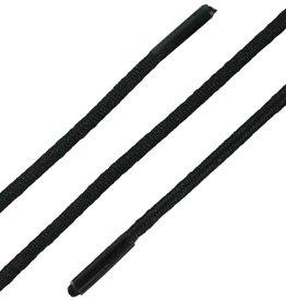 SL Line Elastische Veters Zwart 60cm Ronde