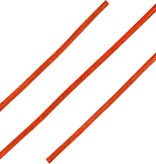 ShoeSupply.eu Ronde Leren Veters Oranje 100cm