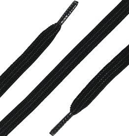 ShoeSupply.eu Elastische Veters plat 90cm Zwart