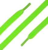 ShoeSupply.eu Elastische Veters plat Neon Groen 90cm