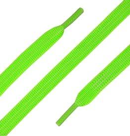 ShoeSupply.eu Elastische Veters plat 90cm Neon Groen