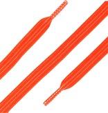 ShoeSupply.eu Elastische Veters plat Neon Oranje 90cm