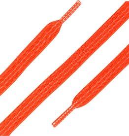 ShoeSupply.eu Elastische Veters plat 90cm Neon Oranje