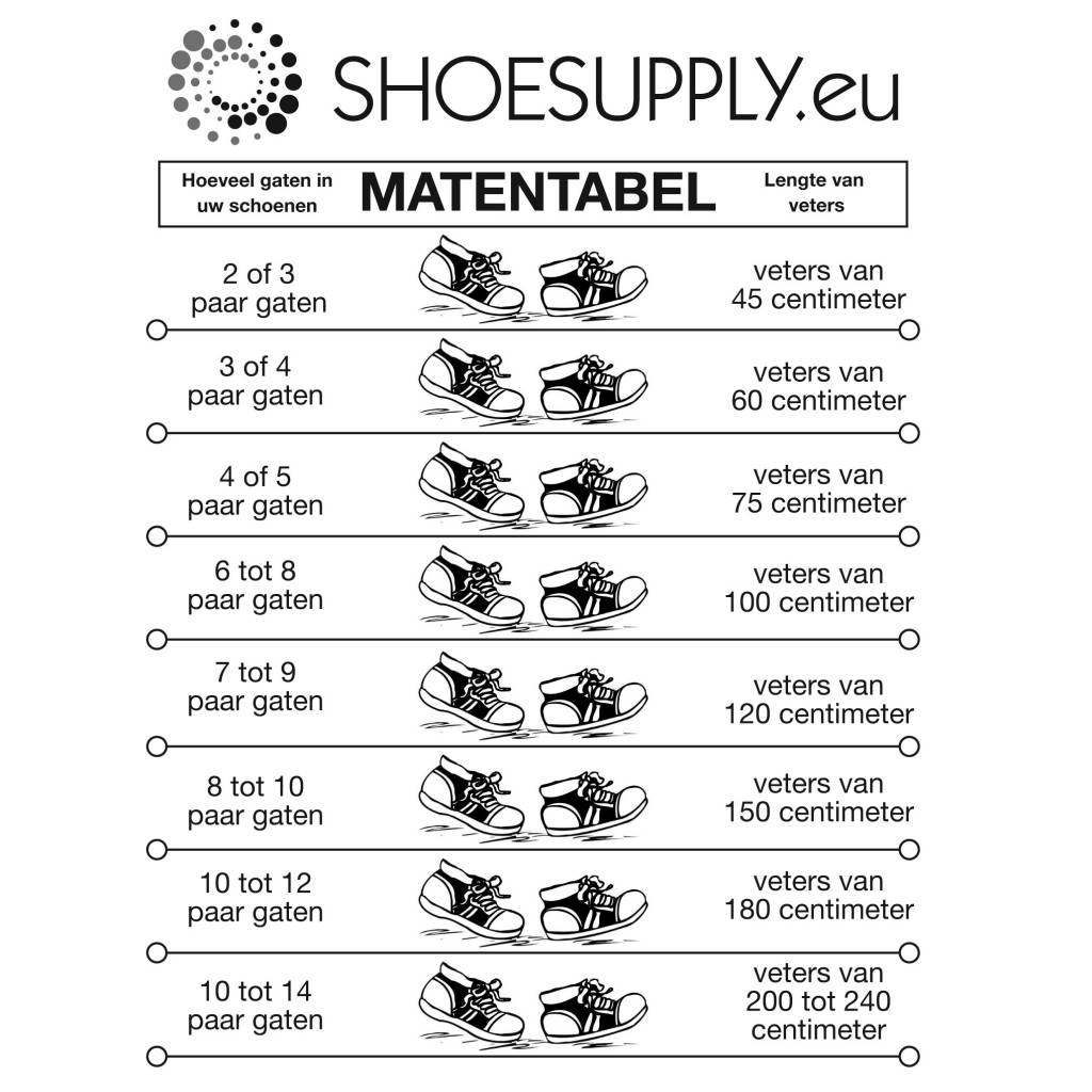 ShoeSupply.eu Wax Veters Lila 60cm