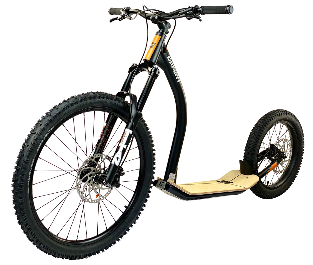 Gravity free scooters. Gravity DH Core Air