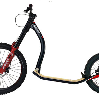 Gravity free scooters. Gravity Iron Cols