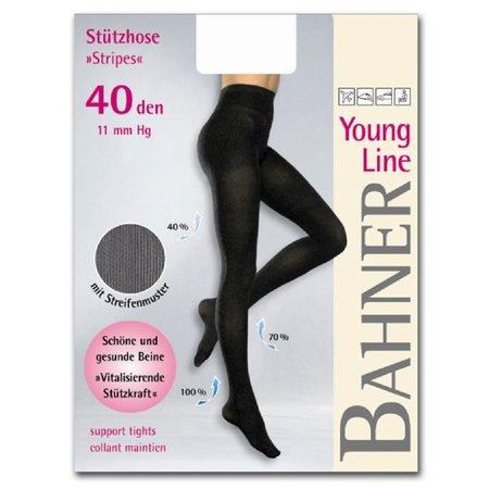 Bahner Steunpanty Young Line Stripes 40 Denier