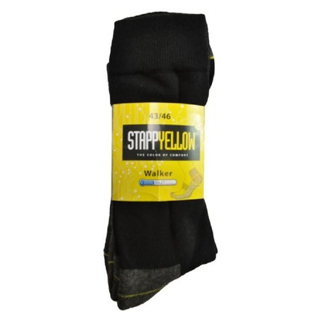 Stapp Yellow Herensokken Walker Coolmax 2-Pack