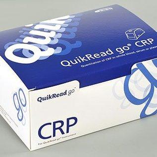 CRP reagentia : quikRead go CRP, doos met 50 st.