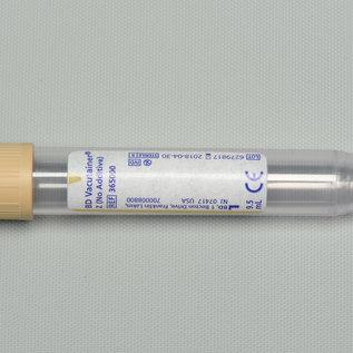 Urinebuis voor kwalitatief urine onderzoek en sediment, beige (9,5ml)