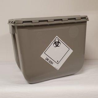 Afvalvat  30 liter +  deksel