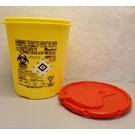 Naaldcontainer, 1,5 liter incl. kosten afvalverwerking