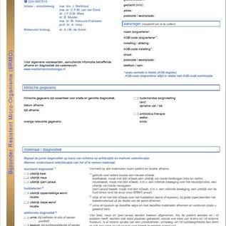 Aanvraagformulier MMB BRMO inventarisatie