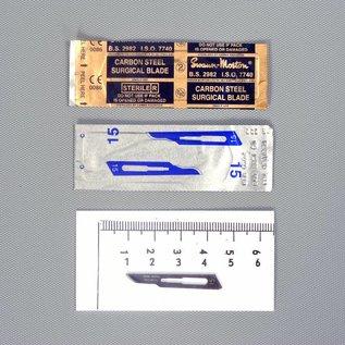 Swann-Morton Disposable scalpel, no 15