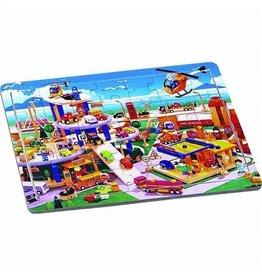 Playwood Leg puzzel parkeergarage