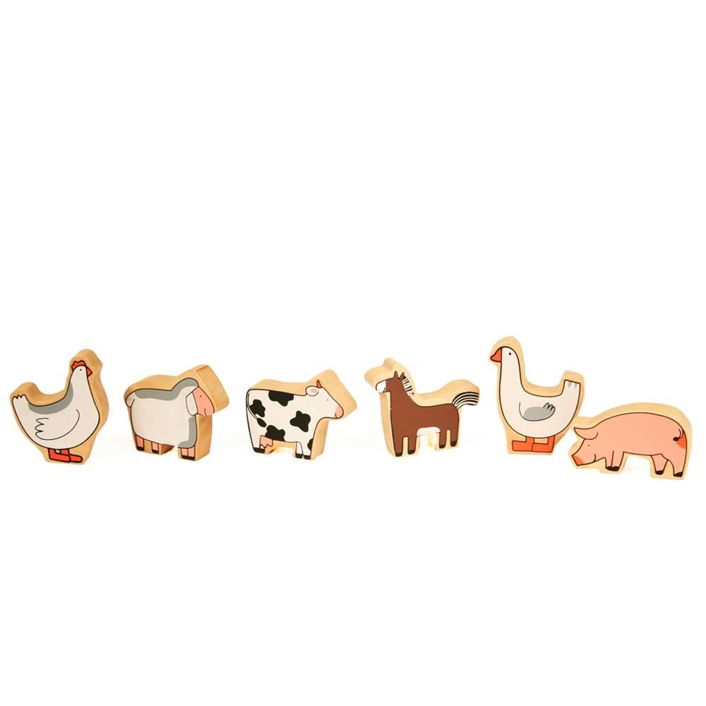Dieren voor op boerderij